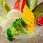 SKEW - 夏野菜のバーニャカウダ