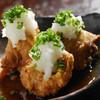 とりや なんじゃこりゃ - 料理写真:榛名鶏もも肉の唐揚げ、おろしぽん酢のせ