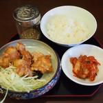 丸髙家 - お昼限定20食のランチセット:780円