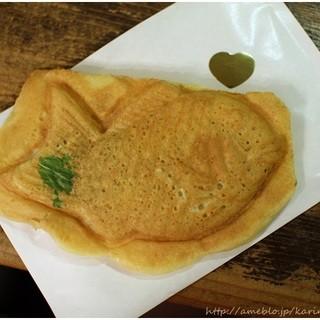 ダ・カーポ - 料理写真:限定スイートポテト鯛焼き