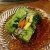 千両寿司 - 料理写真:野菜だけの押し寿司?出汁で(9/4追加)