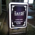 Bar sarto - お店の看板です