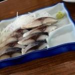酒場 岩科 - 料理写真:シメサバ