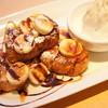 カフェオットー ピゥ - 料理写真:チョコキャラメルバナナフレンチトースト