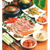 韓国家庭料理どらじ - 料理写真:サムギョプサル、ユッケジャン、チヂミがついたコースです!クーポン使えばさらにお得!
