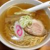 ラーメン カン - 料理写真:醤油ラーメン 半チャーハン 2013年9月