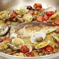 鮮魚を使ったアクアパッツア