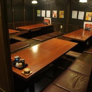 座席数111席!!個室も完備!!