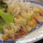なかちゃん - 鶏ネギソース