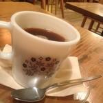 モダナークファームカフェ - たんぽぽコーヒー!カップも可愛い♡