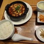 21133775 - 土鍋麻婆豆腐ランチ