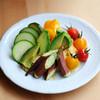 jicca - 料理写真:生野菜とひよこ豆ディップ