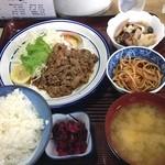 島田食堂 - 焼肉定食@1,300