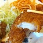 キッチン  ベル - 鱈のフライもサクサク!