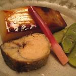 京味 - 真鰹の西京焼き 子持ち鮎