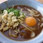 たなか家 - カレーうどん+玉子