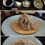 かね井 - 荒挽きそば(10割蕎麦)手打ち蕎麦 かね井(京都市)食彩賓館撮影