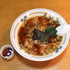 びぜん亭 - 料理写真:支那そば と 梅干し (2013/09)