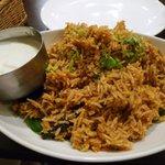 南インド料理ダクシン - チキンビリヤニ