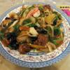 さわで夢屋 - 料理写真:あんかけ焼きそば 大皿(一人前・1500円)