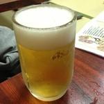陸っぱり - 生ビール(550円)