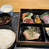 かしわぎ - 料理写真:日替わり刺身定食は汁物とご飯にメインの料理と茶碗蒸しまでついてこのボリュームでなんと600円です。