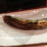 魚一心 - 糠さんま(定食680円)