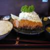 とんかつ ふじ - 料理写真:特選鹿児島産黒豚ロースかつ膳~☆