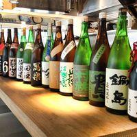 割烹料理に華を添える店主こだわりの日本酒をご堪能ください。
