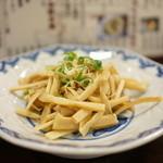 博多麺房 赤のれん - メンマ