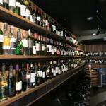 ワイン酒場 GETABAKI gen - 入り口付近