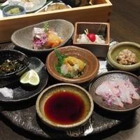 天ぷら 酒菜 醍醐 - コースのお造り一例