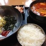 秀彬 - 野菜スンドゥブセット