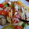 アクアヴィータ - 料理写真:【季節野菜のペペロンチーノ】アップ♪
