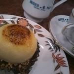 ティーハウス ムジカ - ケーキセット(なめこ)