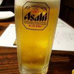 21277448 - 生ビールはスーパードライ