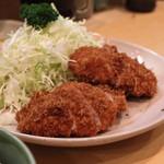 丸一 - 小ヒレかつ (定食)