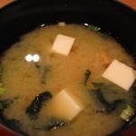 魚舟 - 味噌汁