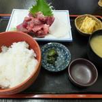食事処 櫻 - 鮪なかおち