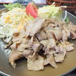 食事処 櫻 - 豚肉の生姜焼き