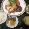 湯楽里 - 料理写真:ハンバーグとチキン南蛮のコンビ(980円)