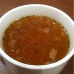 洋食喫茶 犇屋 - スープ