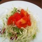 洋食喫茶 犇屋 - セットのサラダ