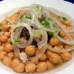 アロヒディン - ひよこ豆と羊肉の煮込み