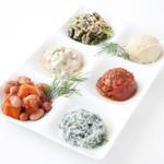 Marmaris (マーマリス) - 前菜6種盛り合わせ