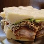 王ろじ - とんサンドイッチ