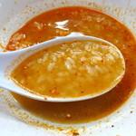 神明 - 〆の雑炊は美味しい♪