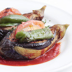 Marmaris (マーマリス) - 茄子の挽肉詰めオーブン焼き