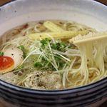 麺や 克 - こだわりのスープもお楽しみ下さい。