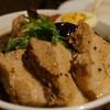 スープカリー スアゲ プラス - 料理写真:角煮+ラム+セセリ+イカスミスープ